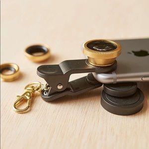2 for $40 | UO | 📸 Mobile Lens Kit | Black Gold